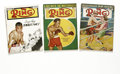"""Boxing Collectibles:Memorabilia, 1947-64 """"The Ring"""" Magazines Lot of 6. The Ring has been on the cutting edge of boxing journalism since its inception i... (Total: 6 Items)"""