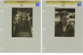 Boxing Collectibles:Memorabilia, Circa 1920s Gene Tunney Vintage Photographs Lot of 2. Heavyweight Champion Gene Tunney reigned from 1926-28, twice defeatin...