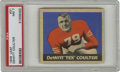 Football Cards:Singles (Pre-1950), 1949 Leaf Dewitt Coulter #31 PSA NM 7. Army standout center brokeinto the league when he was selected seventh overall by t...
