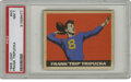 Football Cards:Singles (Pre-1950), 1949 Leaf Frank Tripucka #43 PSA NM 7. Exceptional colorregistration and centering that is almost unbelievable for the'49...