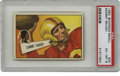 Football Cards:Singles (1950-1959), 1952 Bowman Small Sammy Baugh #30 PSA EX-MT 6. The Hall of Fame Redskins quarterback prepares to let one fly. With gloss a...