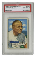 Football Cards:Singles (1950-1959), 1952 Bowman Small Jimmy Phelan #122 PSA NM-MT 8. High-grade offering from the '52 Bowman Small issue depicts Dallas Texans ...