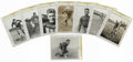 Football Collectibles:Photos, Circa 1920s-1940s Vintage College Football Photographs Lot of 8. Eight vintage photographs focusing on college football sta...