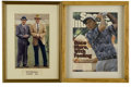 Golf Collectibles:Autographs, Golf Legends Signed Ephemera Lot of 3. Assorted signed memorabiliacomes to us via some of the legendary names who helped s... (Total:3 Items)