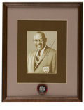 Olympic Collectibles:Autographs, Jesse Owens Signed Photograph. Stunning portrait of Olympian Jesse Owens has been graced with an equally arresting signatur...