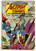 Silver Age (1956-1969):Superhero, Action Comics #252 (DC, 1959) Condition: GD. Origin and first appearance of Supergirl. First appearance of Metallo. Curt Swa...