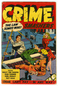 Crime Smashers #15 (Ribage Publishing, 1953) Condition: VG. Myron Fass cover. Henry Kiefer art. Overstreet 2006 VG 4.0 v...