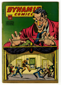 Dynamic Comics #19 (Chesler, 1946) Condition: FN-. George Tuska art. Overstreet 2006 FN 6.0 value = $120. From the colle...