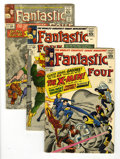 Silver Age (1956-1969):Superhero, Fantastic Four Group (Marvel, 1964-69) Condition: Average VG. Exciting group containing the first Silver Age appearance of t... (Total: 15 Comic Books)
