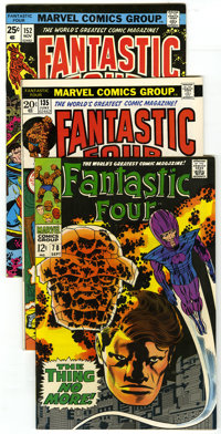 Fantastic Four Group (Marvel, 1968-77) Condition: Average NM-. Group features a Silver Surfer appearance among others an...