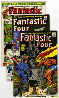 Fantastic Four Group (Marvel, 1968-76) Condition: Average VF. The Silver Surfer and makes an appearance in this group of...