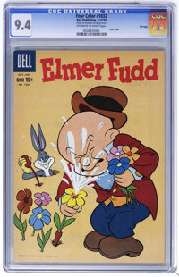 Four Color #1032 Elmer Fudd (Dell, 1959) CGC NM 9.4 Off-white to white pages. Overstreet 2006 NM- 9.2 value = $45. CGC c...