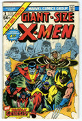 Bronze Age (1970-1979):Superhero, Giant-Size X-Men #1 (Marvel, 1975) Condition: VG. First appearance of the new X-Men (Nightcrawler, Storm, Colossus, and Thun...