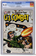 Silver Age (1956-1969):War, G.I. Combat #97 (DC, 1962) CGC NM- 9.2 Off-white pages. Grey tone cover. Jerry Grandenetti and Irv novick art. Russ Heath co...