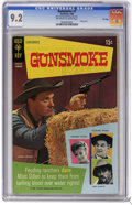 Silver Age (1956-1969):Western, Gunsmoke #1 File Copy (Gold Key, 1969) CGC NM- 9.2 Off-white to white pages. Photo cover. Overstreet 2006 NM- 9.2 value = $9...