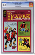 Silver Age (1956-1969):Adventure, Hi-Adventure Heroes #1 File Copy (Gold Key, 1969) CGC NM+ 9.6 Off-white to white pages. Three Musketeers, Gulliver, and Arab...
