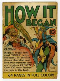 How It Began - Single Series #15 (United Features Syndicate, 1939) Condition: GD. One-shot comic featuring the origins o...
