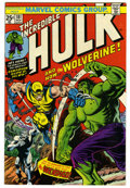 Bronze Age (1970-1979):Superhero, The Incredible Hulk #181 (Marvel, 1974) Condition: FN+. First full appearance of Wolverine. Wendigo appearance. Herb Trimpe ...