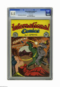 Golden Age (1938-1955):Crime, International Comics #1 (EC, 1947) CGC FN- 5.5 Off-white pages. Lee Bachelor cover. Kurt Schaffenberger and Lee Ames art. Ov...