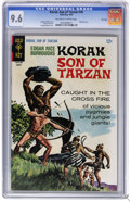 Silver Age (1956-1969):Adventure, Korak, Son of Tarzan #18 File Copy (Gold Key, 1967) CGC NM+ 9.6 Off-white to white pages. George Wilson painted cover. Warre...