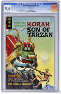 Silver Age (1956-1969):Adventure, Korak, Son of Tarzan #22 File Copy (Gold Key, 1968) CGC NM+ 9.6 White pages. George Wilson painted cover. Dan Spiegle and Mi...