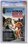 Silver Age (1956-1969):Adventure, Korak, Son of Tarzan #24 File Copy (Gold Key, 1968) CGC NM+ 9.6 White pages. George Wilson painted cover. Dan Spiegle art. T...