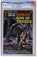 Silver Age (1956-1969):Adventure, Korak, Son of Tarzan #25 File Copy (Gold Key, 1968) CGC NM+ 9.6 Off-white pages. George Wilson painted cover. Dan Spiegle ar...