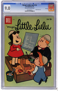 Marge's Little Lulu #133 File Copy (Dell, 1959) CGC VF/NM 9.0 Off-white to white pages. Tubby backup story. Overstreet 2...
