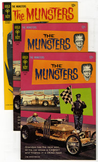 Munsters #6 and 10 Group (Gold Key, 1966) Condition: Average VF. Photo covers on both issues in this group which include...