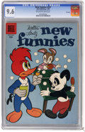 Silver Age (1956-1969):Cartoon Character, New Funnies #237 File Copy (Dell, 1956) CGC NM+ 9.6 Off-white to white pages. This is the highest CGC graded copy to date. O...