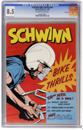 Silver Age (1956-1969):Adventure, Schwinn #nn - File Copy (No Publisher, 1958) CGC VF+ 8.5 Off-white to white pages. Overstreet 2006 VF 8.0 value = $11; VF/NM...