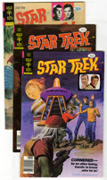 Bronze Age (1970-1979):Science Fiction, Star Trek #44, 53, and 57 Group (Gold Key, 1977-78) Condition: Average VF/NM. Painted covers on all three issues in this lot... (Total: 9 Comic Books)