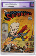 Golden Age (1938-1955):Superhero, Superman #8 (DC, 1941) CGC Apparent FR/GD 1.5 Slight (P) Slightly brittle pages. Fred Ray cover. Interior art by Wayne Borin...