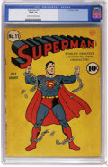 Golden Age (1938-1955):Superhero, Superman #11 (DC, 1940) CGC FR/GD 1.5 Cream to off-white pages. Fred Ray cover art. Paul Cassidy art (ghosting for Joe Shust...