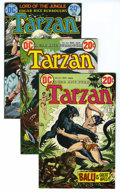 Bronze Age (1970-1979):Miscellaneous, Tarzan #213, 218, and 227 Group (DC, 1972-74) Condition: AverageVF. This lot of thirty comics consists of multiple copies o...(Total: 30)