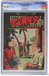 Terry and the Pirates #nn - File Copy (K.K. Publications, 1938) CGC VF/NM 9.0 Off-white to white pages. Promotional give...