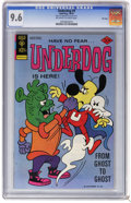 Bronze Age (1970-1979):Cartoon Character, Underdog #9 File Copy (Gold Key, 1976) CGC NM+ 9.6 Off-white towhite pages. Overstreet 2006 NM- 9.2 value = $45. CGC census...