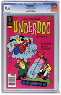 Bronze Age (1970-1979):Cartoon Character, Underdog #13 File Copy (Gold Key, 1977) CGC NM+ 9.6 Off-white towhite pages. First appearance of the Shack of Solitude. Ove...