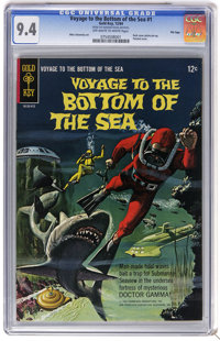 Voyage to the Bottom of the Sea Group - File Copies (Gold Key, 1964-68). This group of nine issues of Voyage to the Bott...