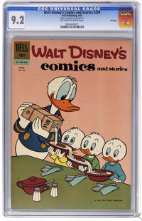 Walt Disney's Comics and Stories #259 File Copy (Dell, 1962) CGC NM- 9.2 Off-white to white pages. Overstreet 2006 NM- 9...