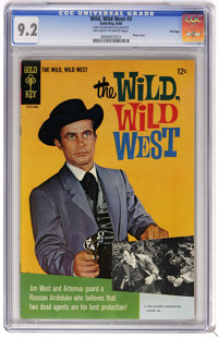 Wild, Wild West #3 File Copy (Gold Key, 1968) CGC NM- 9.2 Off-white to white pages. Photo cover. Overstreet 2006 NM- 9.2...