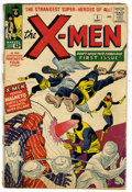 Silver Age (1956-1969):Superhero, X-Men #1 (Marvel, 1963) Condition: GD. Here is an affordable copy of the ever popular X-Men #1 which features the origin...