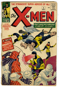 X-Men #1 (Marvel, 1963) Condition: GD. Here is an affordable copy of the ever popular X-Men #1 which features the origin...