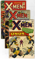Silver Age (1956-1969):Superhero, X-Men #8, 13, and 14 Group (Marvel, 1964-65) Condition: Average GD/VG. Lot consists of three issues of X-Men and include... (Total: 3 Comic Books)