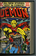 Bronze Age (1970-1979):Superhero, The Demon #1-16 and Devil Dinosaur #1-9 Bound Volume (Marvel & DC, 1972-78). All Jack Kirby stories and art! Features copies...