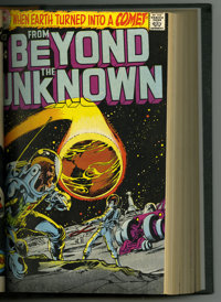 From Beyond The Unknown #1-20 Bound Volume (Marvel, 1969-72). Features copies of From Beyond The Unknown #1, 2, 3, 4, 5...