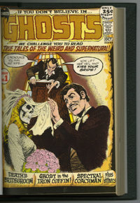 Ghosts #1-20 Bound Volume (DC, 1971-73). Horror stories abound in this bound volume of DC's Ghosts. Included here are #1...