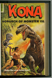 Kona #1-21 Bound Volume (Dell, 1962-67). The entire run of Kona is represented in this bound volume. Included are Four...