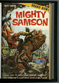 Mighty Samson #1-24 Bound Volume (Gold Key, 1964-74). Features copies of Mighty Samson #1, 2, 3, 4, 5, 6, 7, 8, 9, 10, 1...