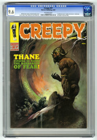 Creepy #27 (Warren, 1969) CGC NM+ 9.6 Off-white pages. Frank Frazetta cover. Steve Ditko, Reed Crandall, Tom Sutton, Ang...